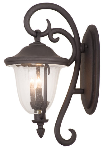 Santa Barbara Outdoor 2 Light Small Wall Bracket