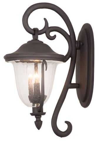 Santa Barbara Outdoor 4 Light Large Wall Bracket