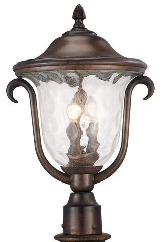Santa Barbara Outdoor 3 Light Medium Post Mount Lantern