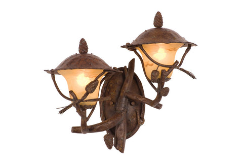 Ponderosa Outdoor 2 Light Wall Bracket (Right)