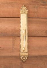L'Enfant 23 3/8 Inch Door Pull Plate in Several Finishes