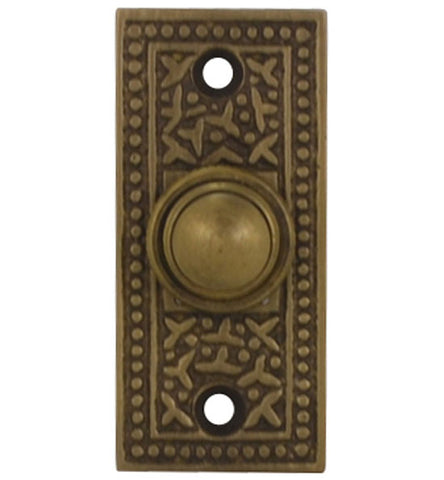 Solid Brass Rice Pattern Door Bell