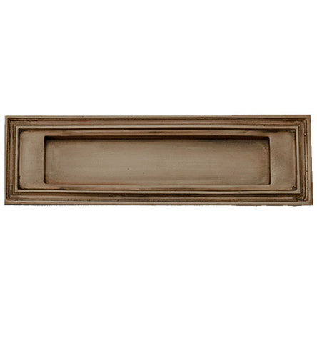 Mission Style Mail Slot for Front Doors Several Finishes Available