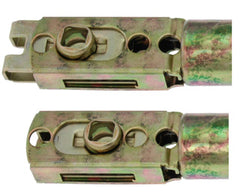 Adjustable Tubular Latch 2 3/8 Inch to 2 3/4 Inch Backset