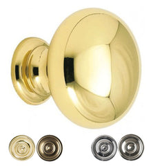 1 Inch Allison Value Round Modern Cabinet Knob