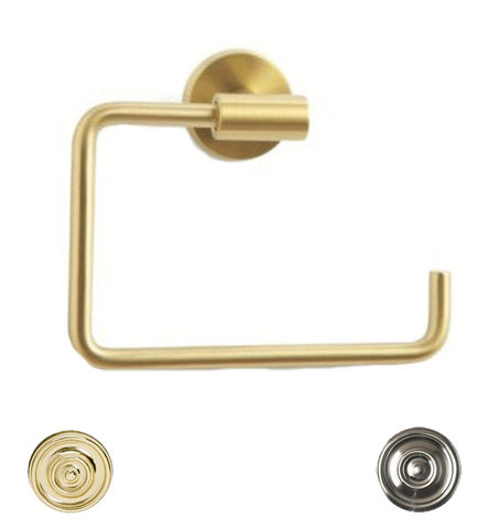 Amerock 6 3/8 Inch Post Modern Arrondi Towel Ring