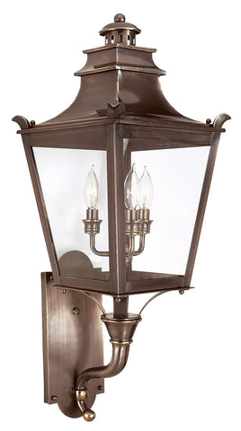 Dorchester 3 Light Wall Lantern Medium