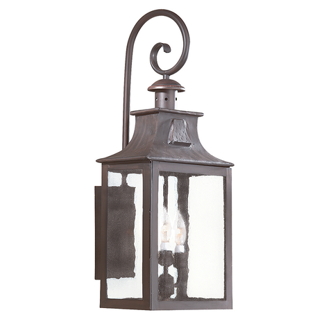 NEWTON 3 Light WALL LANTERN LARGE
