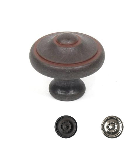1 3/16 Inch Country Style Cabinet Knob