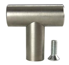 1 3/8 Inch Stainless Steel T Cabinet Knob