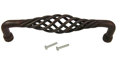 8 1/2 Inch Saxon Wrought Iron Pull