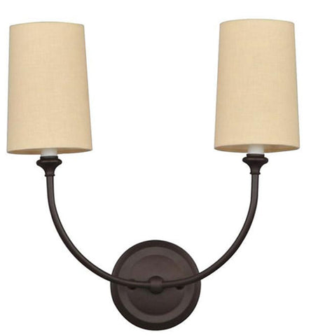Crystorama Sylvan 2 Light Wall Sconce