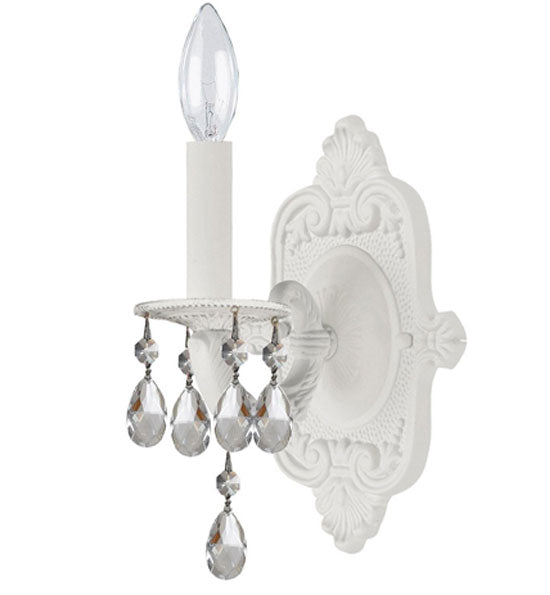 Crystorama 12 Inch Paris Market 1 Light Wall Sconce