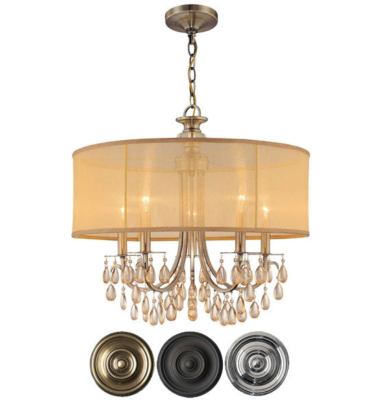 Crystorama Hampton 5 Light Chandelier