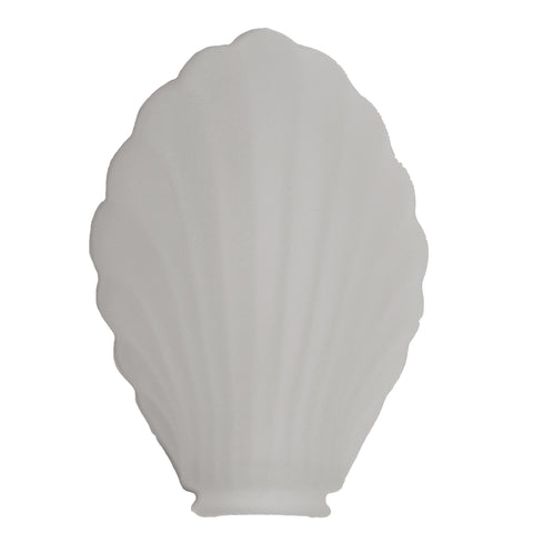 Scalloped Frosted Glass Lamp Shade