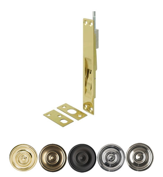 12 Inch Deltana Extension Flush Bolt Several Finishes Available