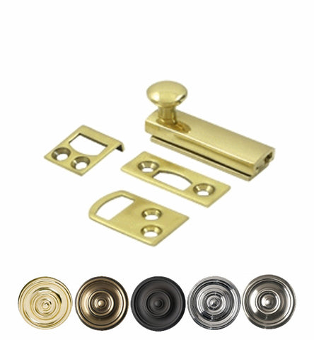 2 Inch Solid Brass Surface Bolt