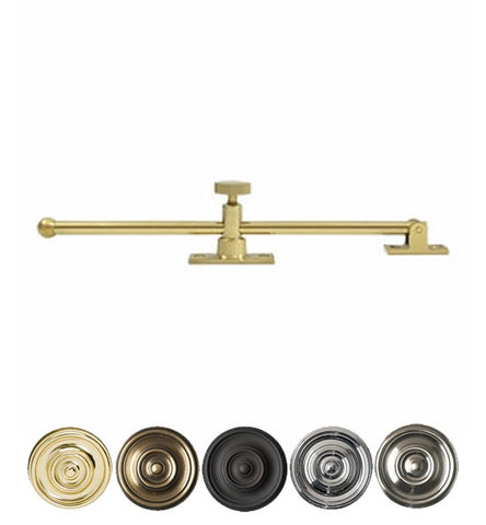 10 Inch Solid Brass Standard Casement Stay Adjuster
