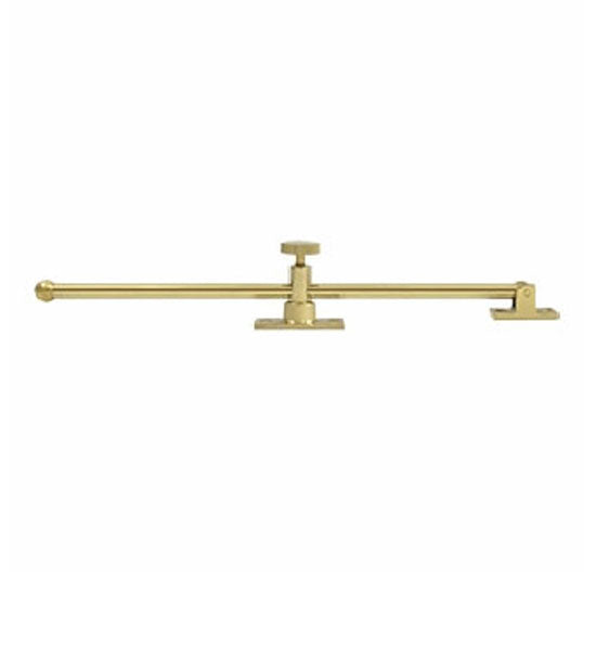 12 Inch Solid Brass Standard Casement Stay Adjuster