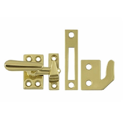 1 5/8 Inch Solid Brass Window Lock Casement Fastener