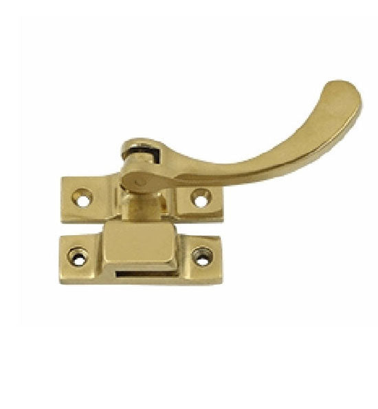 4 1/2 Inch Solid Brass Window Lock Casement Fastener