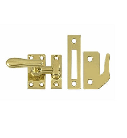 2 1/16 Inch Solid Brass Window Lock Casement Fastener