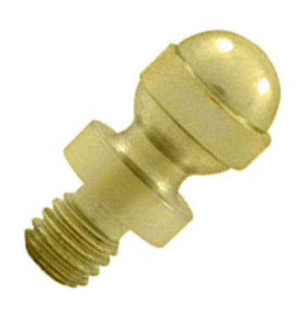 1/2 Inch Solid Brass Acorn Tip Cabinet Finial