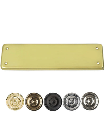 Solid Brass Extra Cover Plate - DOUBLE ACTION SWING DOOR HINGES – Antique Hardware Supply