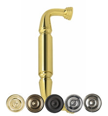 8 Inch Deltana Solid Brass Door Pull in Several Finishes