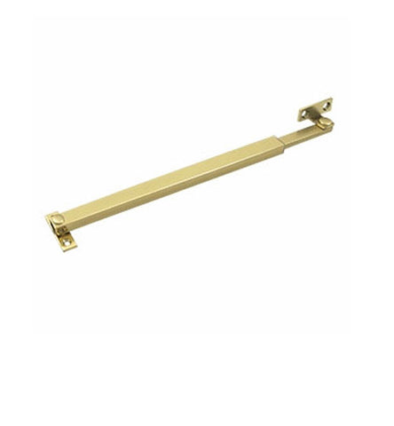 12 Inch Solid Brass Friction Casement Fastener