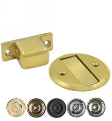 Baseboard Magnetic Door Hold / Door Stop in Several Finishes