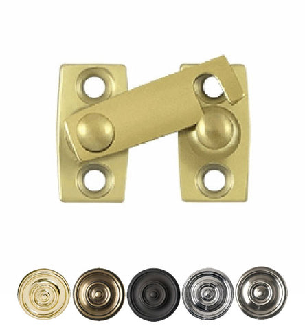 1 3/16 Inch Solid Brass Shutter Bar Door Latch