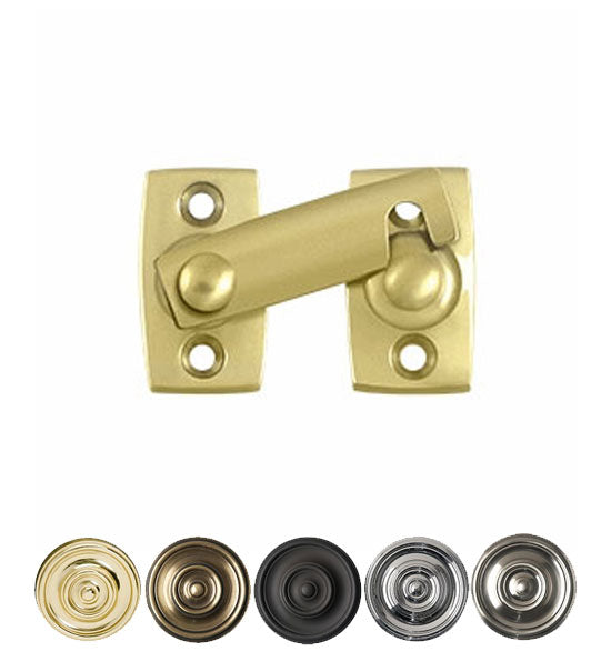 1 3/8 Inch Solid Brass Shutter Bar Door Latch