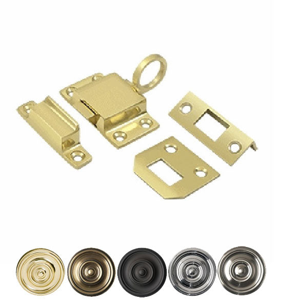 1 5/8 Inch Solid Brass Transom Catch