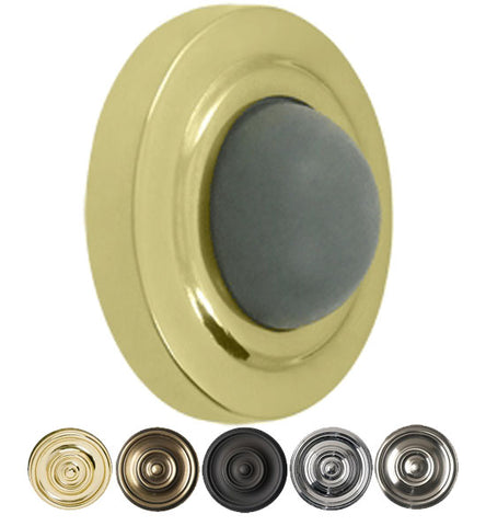 Convex Wall Door Hold / Door Stop in Several Finishes
