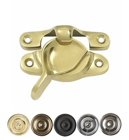 Period Style Solid Brass Traditional Window Sash Lock
