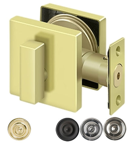 Deltana Low Profile Square Deadbolt Lock Grade 3