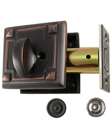 Arts and Crafts Style Deadbolt