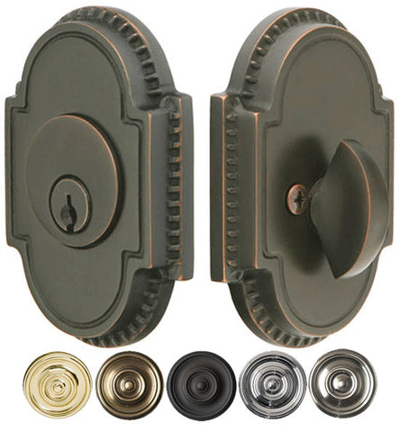 Knoxville Style Oval Deadbolt Several Finishes Available