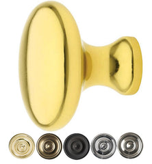 1 1/4 Inch Solid Brass Providence Cabinet Knob
