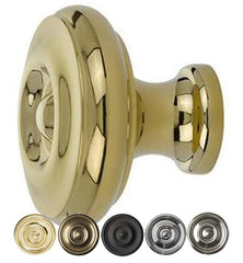 Emtek Solid Brass Waverly Cabinet & Furniture Knob