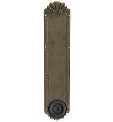 14 Inch Solid Brass Lost Wax Petal Push Plate