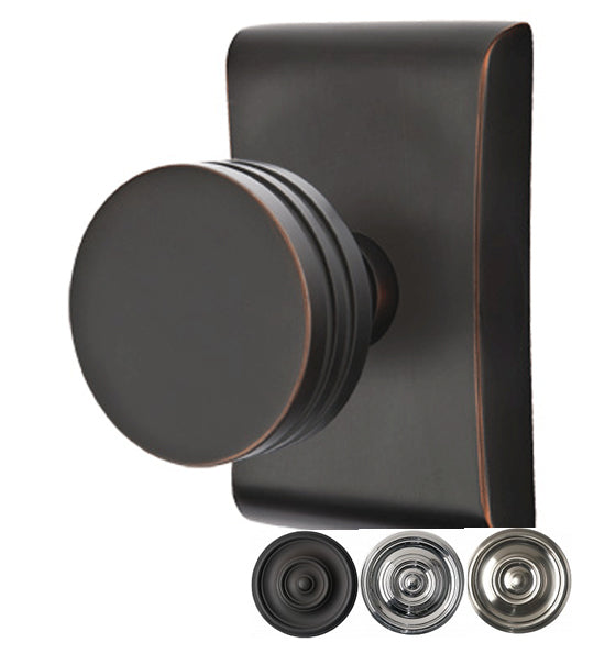 Modern Interior Door Knobs Bern Knob (Several Finish Options)