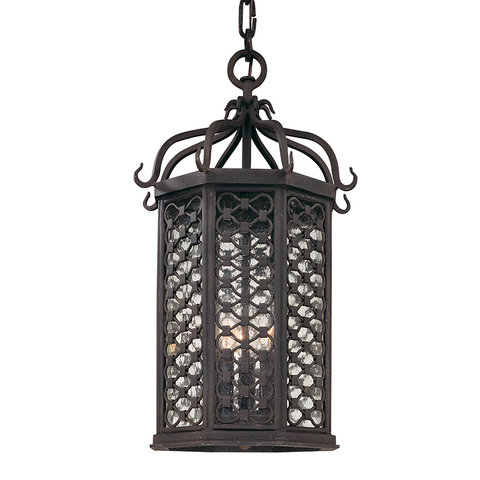 LOS OLIVOS 3 Light HANGING LANTERN MEDIUM