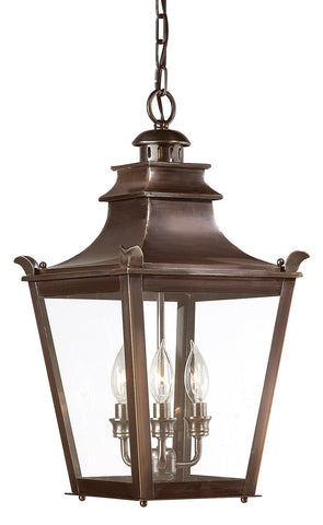 Dorchester 3 Light Hanging Lantern Medium