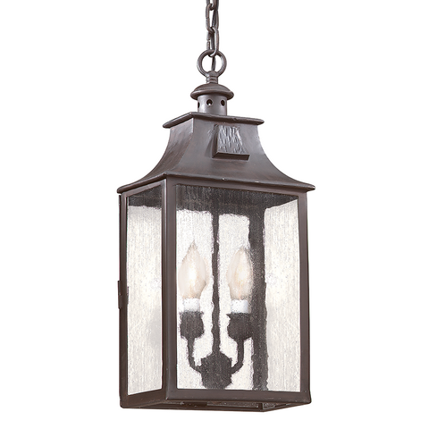 NEWTON 2 Light HANGING LANTERN MEDIUM