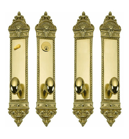 L'Enfant Style Double Door Deadbolt Entryway Set