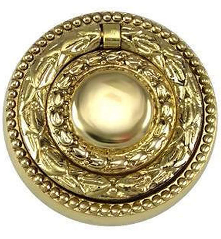 2 Inch Solid Brass Regency Diameter Drawer Ring Pull