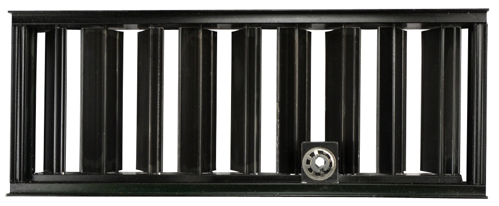 Stamped Steel Louver System: 10 Inch x 4 Inch