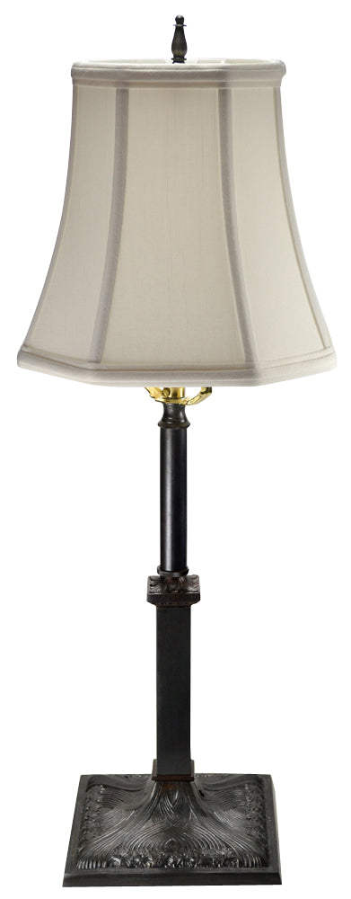 21 Inch Solid Brass French Table Lamp